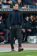 Roger Schmidt, head coach of Bayer Leverkusen during the Bundesliga match at BayArena, Leverkusen<br /> Picture by EXPA Pictures/Focus Images Ltd 07814482222<br /> 28/01/2017<br /> *** UK & IRELAND ONLY ***<br /> <br /> EXPA-EIB-170129-0040.jpg