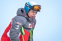 17.02.2019, Aare, SWE, FIS Weltmeisterschaften Ski Alpin, Slalom, Herren, im Bild Prof. Peter Schröcksnadel (ÖSV Präsident) // Peter Schroecksnadel Austrian Ski Association President during the men's Slalom of FIS Ski World Championships 2019. Aare, Sweden on 2019/02/17. EXPA Pictures © 2019, PhotoCredit: EXPA/ Dominik Angerer