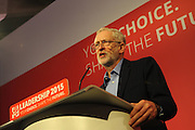 Labour Party Leadership Conference<br /> QE11 Centre, Westminster, London.Westminster<br /> Conference called to announce the results of the elections for position of Labour Party leader and deputy leader.<br /> <br /> Jeremy Corbyn, newly elected leader of the Labour Party, make his acceptance his speech.