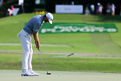 September 20, 2018 - Atlanta, Georgia, United States - Dustin Johnson putts the 15th green during the first round of the 2018 TOUR Championship. (Credit Image: © Debby Wong/ZUMA Wire)