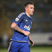 Shaun Tuton (Halifax) during the Conference Premier League match between FC Halifax Town and Guiseley at the Shay, Halifax, United Kingdom on 5 December 2015. Photo by Mark P Doherty.