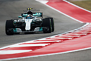 October 19-22, 2017: United States Grand Prix. Valtteri Bottas (FIN), Mercedes AMG Petronas Motorsport, F1 W08