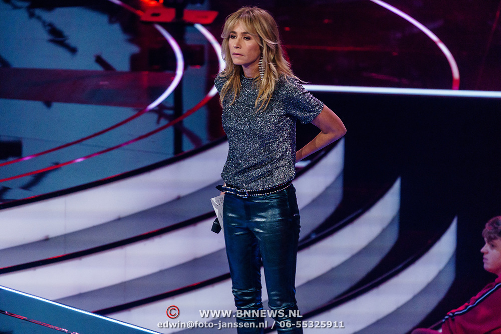 NLD/Hilversum/20190201- TVOH 2019 1e liveshow, Wendy van Dijk