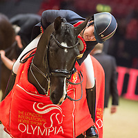 Reem Acra FEI World Cup Dressage Grand Prix - London International Horse Show, Olympia 2015