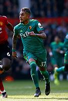 Football - 2018 / 2019 Premier League - Manchester United vs. Watford<br /> <br /> James Garner of Watford, at Old Trafford.<br /> <br /> COLORSPORT/ALAN MARTIN