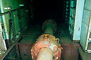 Shaft Alley, Hold, USS Kittiwake