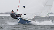 ENGLAND, London, Queen Mary Sailing Club, January 9th 2010, Bloody Mary Pursuit Race, RS 400 1272, Andy Wilcox and Scott Bilham (Ely SC)