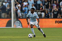 July 7, 2018 - Kansas City, KS, U.S. - KANSAS Kansas City, KS - JULY 07: Sporting Kansas City forward Gerso (12) in the first half of an MLS match between Toronto FC and Sporting Kansas City on July 7, 2018 at Children's Mercy Park in Kansas City, KS. (Photo by Scott Winters/Icon Sportswire) (Credit Image: © Scott Winters/Icon SMI via ZUMA Press)