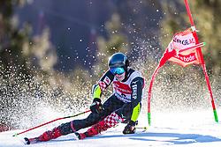 02.03.2020, Hannes Trinkl Weltcupstrecke, Hinterstoder, AUT, FIS Weltcup Ski Alpin, Riesenslalom, Herren, 1. Lauf, im Bild Filip Zubcic (CRO) // Filip Zubcic of Croatia in action during 1st run of men's Giant Slalom of FIS ski alpine world cup at the Hannes Trinkl Weltcupstrecke in Hinterstoder, Austria on 2020/03/02. EXPA Pictures © 2020, PhotoCredit: EXPA/ Johann Groder
