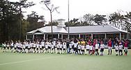 TILBURG - Clubhuis met Line up Tilburg . Hoofdklasse hockey competitie Tilburg-SCHC (4-2). COPYRIGHT KOEN SUYK