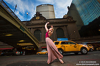 Ballerina 42nd Street Grand Central Dance As Art New York Photography Project featuring Briony West