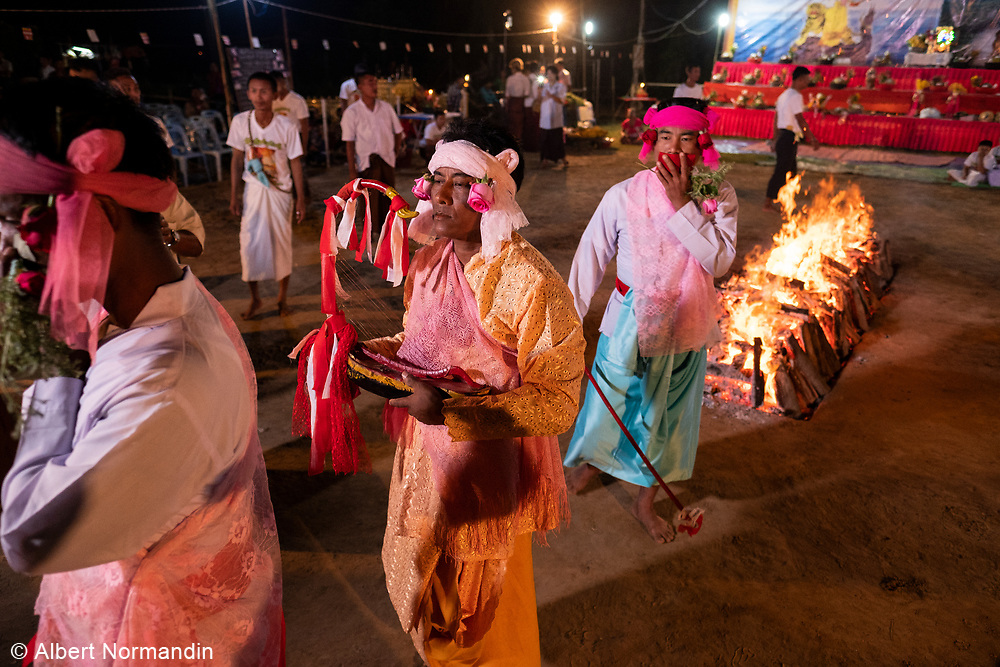 Fire Walking and Nat Festival, Hpa-an, Myanmar