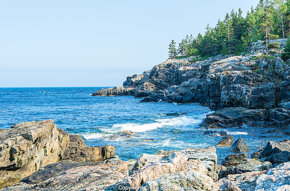 Acadia National Park Rocky coastline