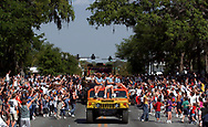 PT 119999 - - DELIVER TO: Pasco - - 3/24/2001 - - New Port Richey - - CAPTION INFO:  The large crowd gathered for the afternoon parade spills into the street Saturday in New Port Richey during the Chasco Fiesta. Times Photo by: Brendan Fitterer Story By: Fitterer - - SCANNED BY: BTF - - RUN DATE: 3/25/2001