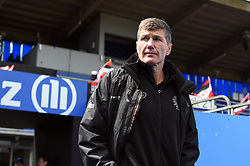 Exeter Chiefs Director of Rugby Rob Baxter looks on prior ot the match - Mandatory byline: Patrick Khachfe/JMP - 07966 386802 - 04/05/2019 - RUGBY UNION - Allianz Park - London, England - Saracens v Exeter Chiefs - Gallagher Premiership Rugby