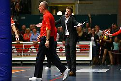 20160402 BEL: Volleybal: Volley Lindemans Asse Lennik - Noliko Maaseik, Zellik  <br />Johan Devoghel, headcoach Volley Lindemans Asse Lennik