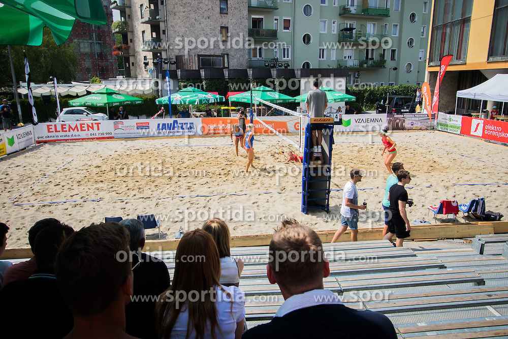 Playground during Qlandia Beach Challenge 2015 and Beach Volleyball Slovenian National Championship 2015, on July 25, 2015 in Kranj, Slovenia. Photo by Ziga Zupan / Sportida