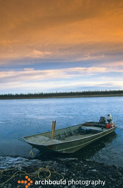 Old Crow River, Yukon