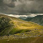 High Stile from Red Pike, Cumbria.