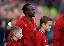 LIVERPOOL, ENGLAND - Sunday, October 7, 2018: Liverpool's Sadio Mane before the FA Premier League match between Liverpool FC and Manchester City FC at Anfield. (Pic by David Rawcliffe/Propaganda)