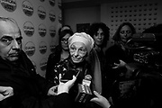 Emma Bonino during the press conference at headquarters of the Radicali party. Roma 24 Gennaio 2018. Christian Mantuano / OneShot