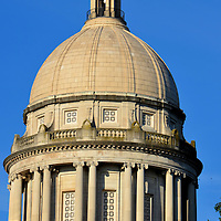 Kentucky State Capitol Building Dome in Frankfort, Kentucky<br />