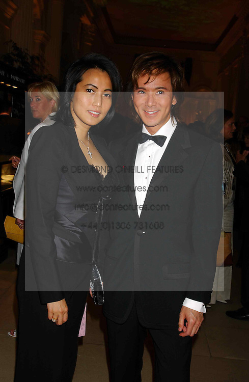 ANDY &amp; PATTI WONG at a evening to celebrate the unveiling of the British Luxury Club at The Orangery, Kensington Palace, London W8 on 16th September 2004.<br /><br />NON EXCLUSIVE - WORLD RIGHTS