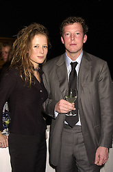 The HON.NAT ROTHSCHILD and MISS CATHERINE BOOTH, at a party in London on 7th November 2000.OIT 47