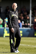 Northampton Saints director of rugby Jim Mallinder before the LV Cup Final match at Sandy Park, Exeter<br /> Picture by Andy Kearns/Focus Images Ltd 0781 864 4264<br /> 16/03/2014