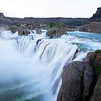 USA, Idaho, Twin Falls. Shoshone Falls.
