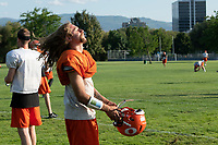 KELOWNA, BC - AUGUST 14:  of the Okanagan Sun take part in practice at the Apple Bowl on August 14, 2019 in Kelowna, Canada. (Photo by Marissa Baecker/Shoot the Breeze)