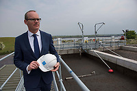 Repro Free:  Minister Simon Coveney was in Kinvara today to officially open the new wastewater treatment plant which was constructed following an investment of €5.1 million by Irish Water. . Photo:Andrew Downes, xposure