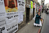 Israel News - Preparations for Purim 2010 - in Mea Shearim, Jerusalem