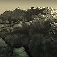 Arcos de la Frontera pirched on a hill top