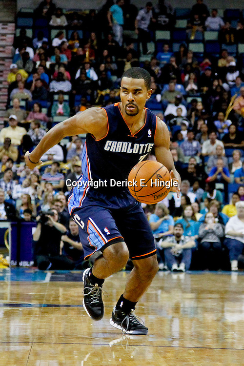 November 9, 2012; New Orleans, LA, USA; Charlotte Bobcats point guard Ramon Sessions (7) against the New Orleans Hornets during the second half of a game at the New Orleans Arena. The Hornets defeated the Bobcats 107-99. Mandatory Credit: Derick E. Hingle-US PRESSWIRE