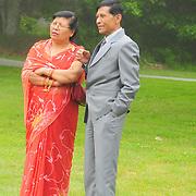 June 27, 2009 -- Sarah and Prajwal Karmacharya  wedding. Photo by Roger S. Duncan.