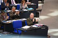 DEU, Deutschland, Germany, Berlin, 01.02.2018: AfD-Fraktionschef Alexander Gauland (MdB, Alternative für Deutschland, AfD) während einer Plenarsitzung im Deutschen Bundestag.