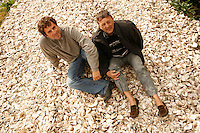 Gillardeau Oysters, considered the best in France - Gerard, head of the family, and his son, Thierry
