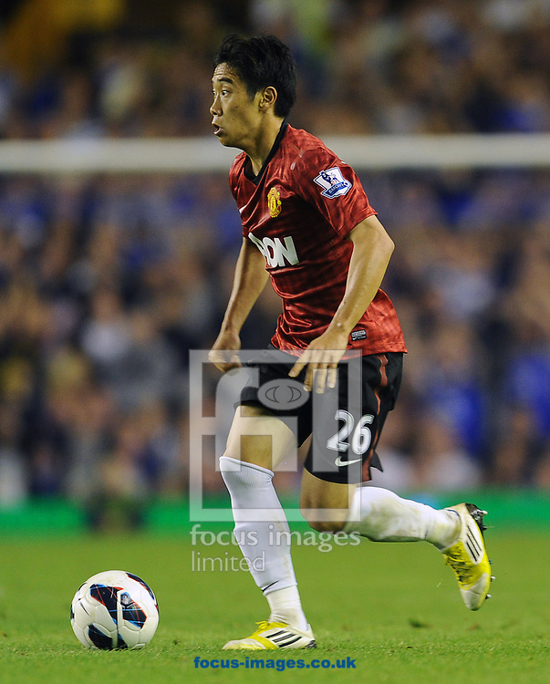 Picture by Andrew Timms/Focus Images Ltd +44 7917 236526.20/08/2012.Shinji Kagawa of Manchester United during the Barclays Premier League match against Everton at Goodison Park, Liverpool.