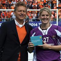 DEN HAAG - Rabobank Hockey World Cup<br /> 38 Final: Netherlands - Australia<br /> Netherlands world champion.<br /> Foto: Rachael Lynch.<br /> COPYRIGHT FRANK UIJLENBROEK FFU PRESS AGENCY