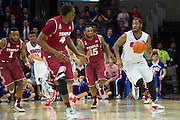 DALLAS, TX - FEBRUARY 19: Markus Kennedy #5 of the SMU Mustangs brings the ball up court against the Temple Owls on February 19, 2015 at Moody Coliseum in Dallas, Texas.  (Photo by Cooper Neill/Getty Images) *** Local Caption *** Markus Kennedy