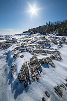 Black Rocks of Presque Isle<br />