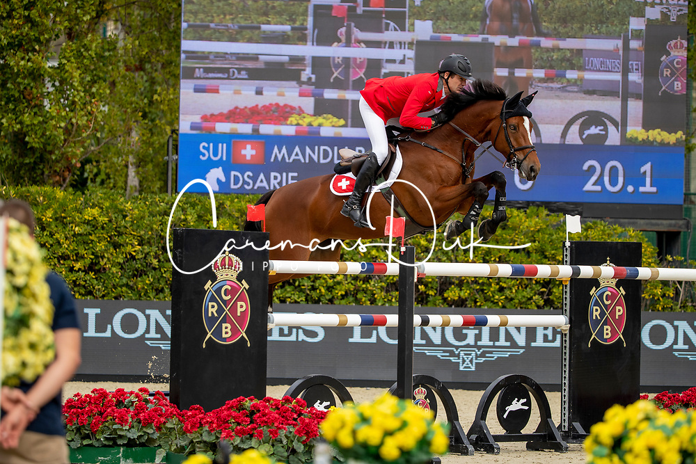Mändli Beat, SUI, Dsarie<br /> Longines FEI Jumping Nations Cup Final<br /> Challenge Cup - Barcelona 2019<br /> © Dirk Caremans<br />  06/10/2019