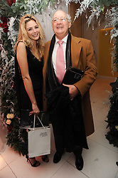 TAMSIN EGERTON and her father MICHAEL EGERTON at the launch of the English National Ballet's Christmas season 2009 held at the St.Martin;s Lane Hotel, London on 15th December 2009.
