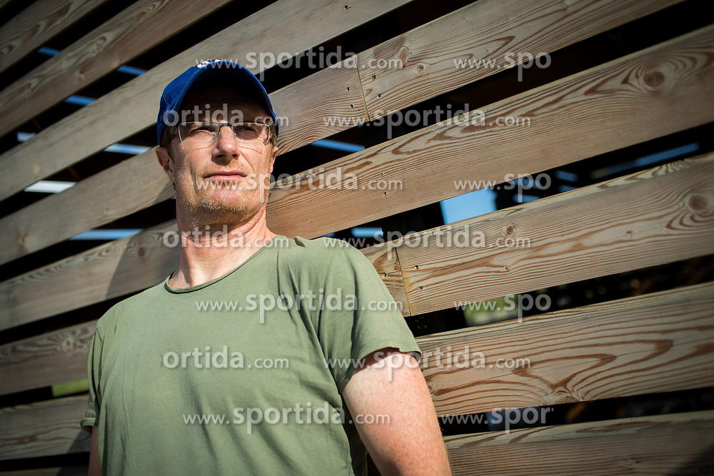 Portrait of Tadej Golob, Slovenian writer and journalist, on June 29, 2017 in Ljubljana, Slovenia. Photo by Vid Ponikvar / Sportida