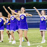 08-31-17 Berryville Jr High Cheerleaders - Decatur