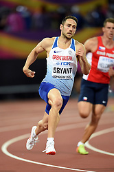 Ashley Bryant of Great Britain in action - Mandatory byline: Patrick Khachfe/JMP - 07966 386802 - 11/08/2017 - ATHLETICS - London Stadium - London, England - 400m Decathlon - IAAF World Championships