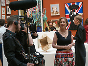 KIRSTY WARK, Royal Academy of Arts Summer Party. Burlington House, Piccadilly. London. 7June 2017