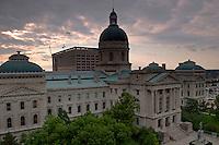 Indiana State Capitol, Indianapolis, Indiana