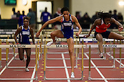 The Hampton Lady Pirates competed in the Father Diamond Invitational Indoor Track Meet at George Mason FIeld House in Fairfax, Virginia.  January 05, 2013  (Photo by Mark W. Sutton)